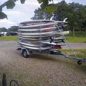 remorque de route / de canoë-kayak / pour planche à voile