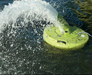 aérateur d'eau pour la pisciculture