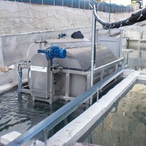 filtre à tambour / pour l'aquaculture
