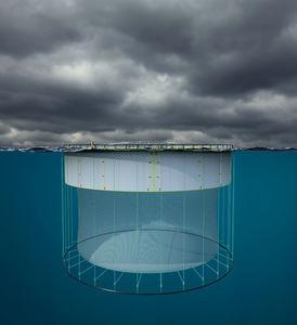 cage à poissons pour l'aquaculture