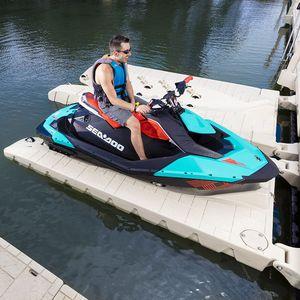ponton flottant / pour amarrage à sec / pour jet-ski / en polyéthylène