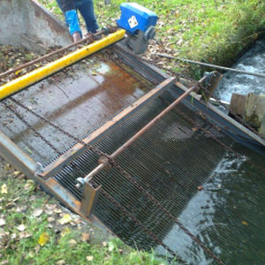 dégrilleur pour l'aquaculture