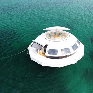 structure flottante pour hôtellerie / pour le secteur événementiel