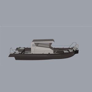 bateau professionnel bateau utilitaire / bateau de débarquement / in-bord / en HDPE