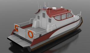 bateau professionnel bateau utilitaire / bateau de débarquement / in-bord hydrojet / médicalisé
