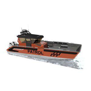 bateau de travail / bateau de surveillance / bateau de sauvetage / bateau militaire