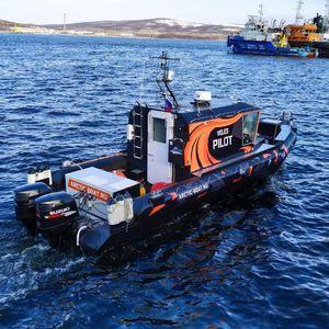 bateau de surveillance / bateau à passagers / bateau de transport de troupes / bateau de pêche professionnelle