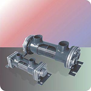 échangeur de chaleur à faisceau tubulaire / pour navire
