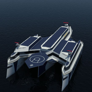 navire de recherche océanographique trimaran