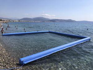 barrage anti-méduse