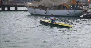 bateau d'aviron de loisir