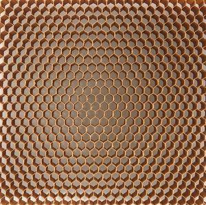 matériau d'âme nid d'abeille en aramide - nomex®