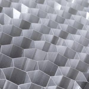 matériau d'âme nid d'abeille en aluminium