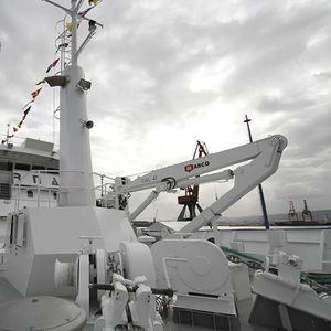 grue pour navire