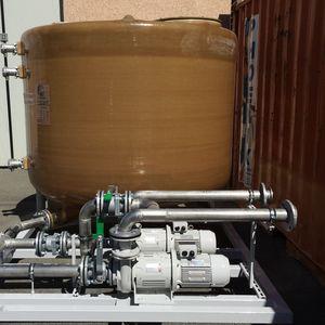réservoir d'eaux usées