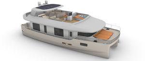 bateau maison catamaran