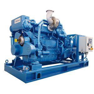 groupe électrogène pour navire / à gaz / à turbine