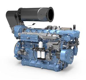 moteur in-bord / diesel / professionnel / common-rail