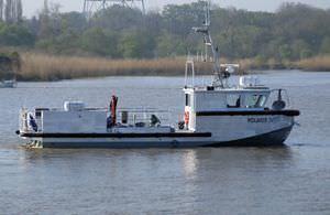bateau professionnel bateau de recherche océanographique / in-bord hydrojet / en aluminium