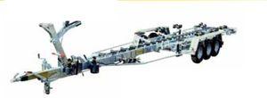 remorque de manutention / pour chantier naval / hydraulique / à rouleaux