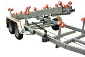 remorque de manutention / pour chantier naval / à rouleaux