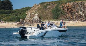 walkaround hors-bord / à console centrale / de pêche sportive / max. 10 personnes
