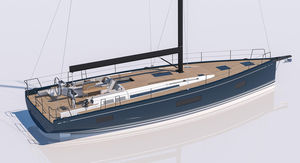 sailing-yacht de croisière / de course-croisière / cockpit ouvert / 3 cabines