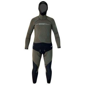 combinaison en néoprène de chasse sous-marine / à manches longues / à cagoule / deux pièces