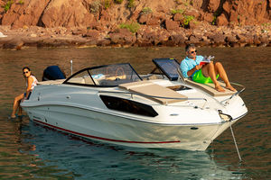 cabin-cruiser hors-bord / open / max. 9 personnes / 4 couchages