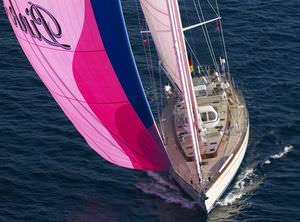 sailing-yacht de croisière / de course-croisière / cockpit ouvert / en carbone