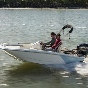 coque open hors-bord / à console latérale / de sport / de pêche sportive