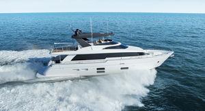 super-yacht de luxe de croisière / raised pilothouse
