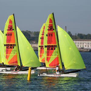 catamaran de sport de régate / école / multiple / spinnaker asymétrique