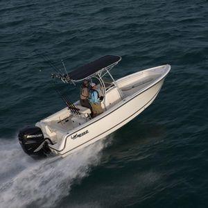 coque open hors-bord / à console centrale / de pêche sportive / offshore