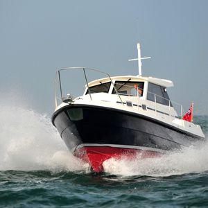 bateau de pêche-croisière in-bord