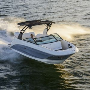deck-boat hors-bord / à double console / de wakeboard / max. 14 personnes
