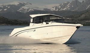 cabin-cruiser hors-bord / à cockpit fermé / de pêche sportive / max. 8 personnes