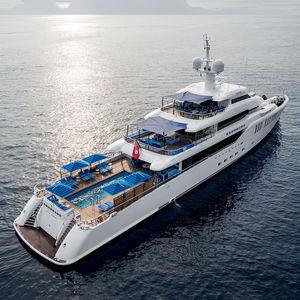 mega-yacht de croisière / avec timonerie / 6 cabines / avec piscine