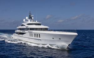 mega-yacht de croisière / raised pilothouse / 6 cabines / sur mesure