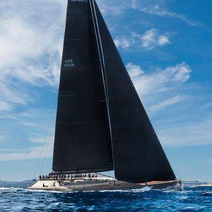 sailing-superyacht course-croisière / cockpit ouvert / à quille relevable / sloop