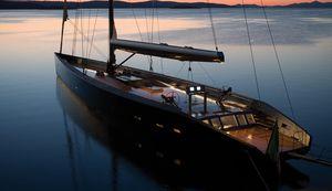 sailing-superyacht de croisière / traditionnel / cockpit ouvert / 8 cabines