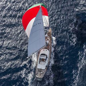 sailing-superyacht de croisière / de course / avec timonerie / en aluminium
