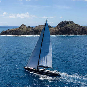 sailing-superyacht de croisière rapide / traditionnel / de course / salon de pont
