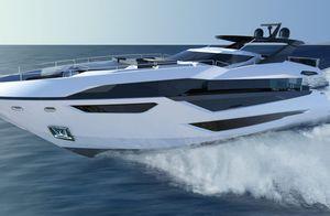 motor-yacht de croisière / à fly / avec timonerie / 3 cabines