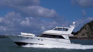 motor-yacht de pêche sportive / à fly fermé / coque planante