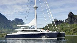 sailing-superyacht catamaran