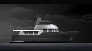 motor-yacht pour expédition