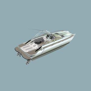 runabout catamaran