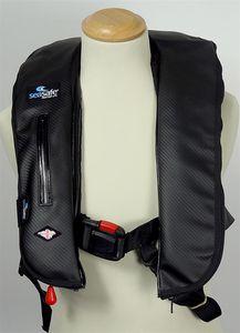 gilet de sauvetage en mousse / gonflable automatique / 170 N / avec harnais de sécurité