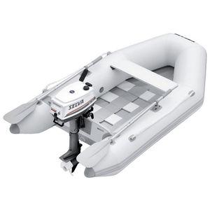 bateau pneumatique hors-bord / pliable / annexe pour yacht / bi-place